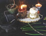 Candle Flames, Smoke, and Divination